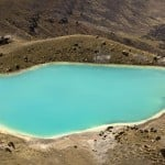 Emerald Lakes at Tongariro National Park, New Zealand