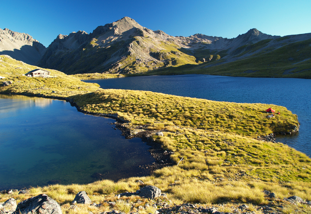 Lake Angelus, Nelson lakes national park, New Zealand
