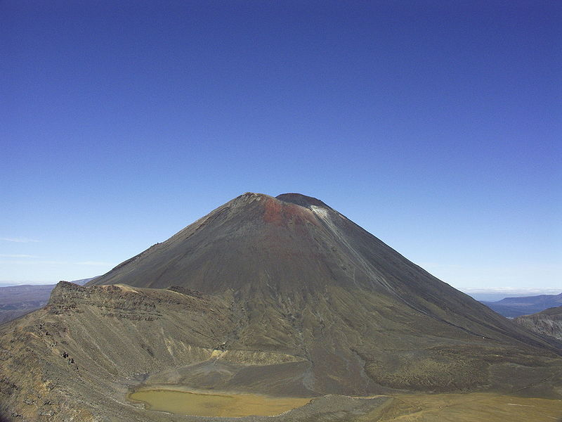 Mount Ruhapeu at Tongariro National Park
