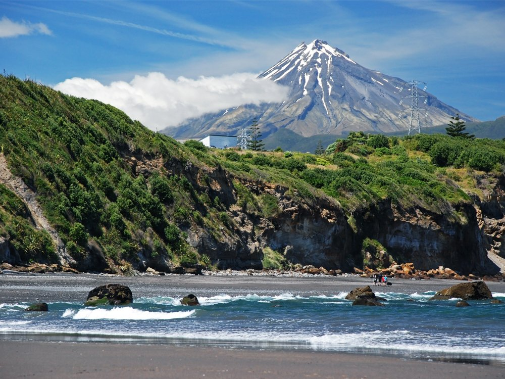 Egmont National Park in New Zealand