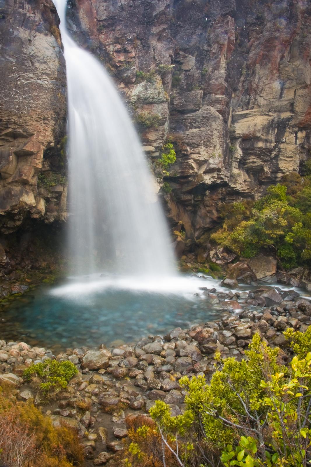 Taranaki Falls at Tongariro National Park