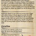 Aswan Infographic
