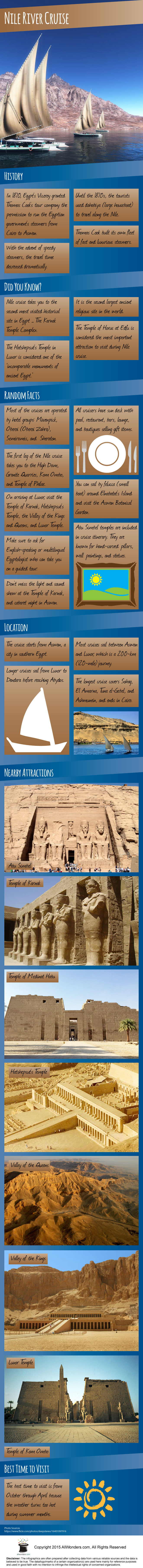 Nile River Cruise Infographic