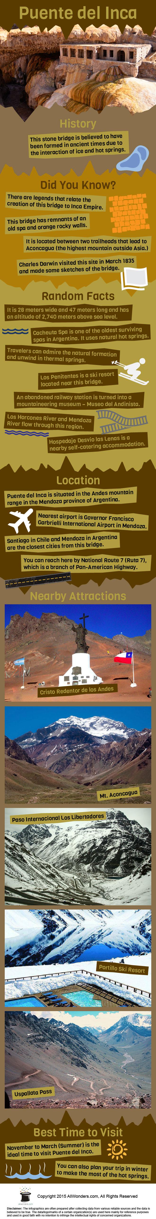 Puente Del Inca Infographic