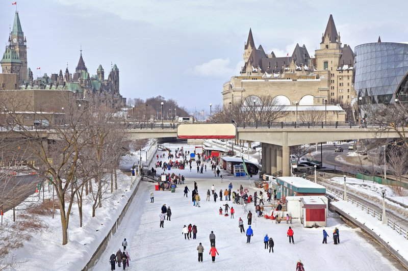 Rideau Canal Travel Information