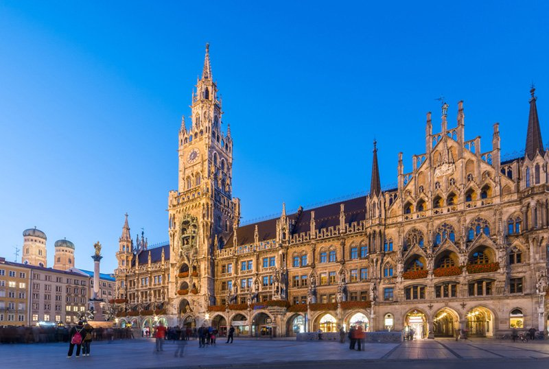 Tourist place in Munich