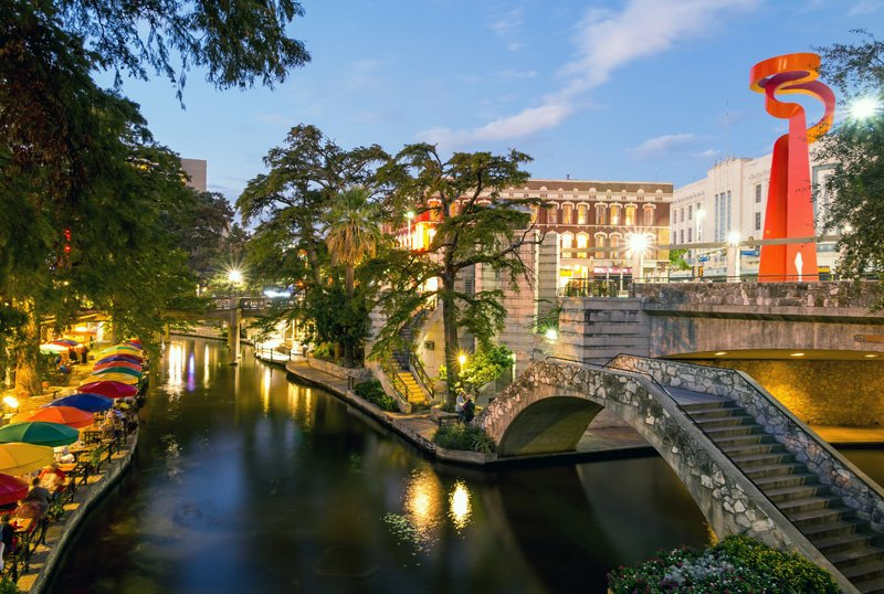 River Walk in San Antonio