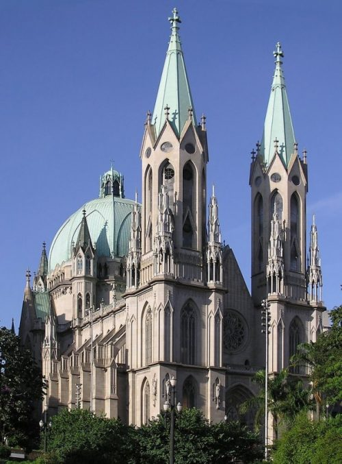 Metropolitan Cathedral of Sao-Paulo