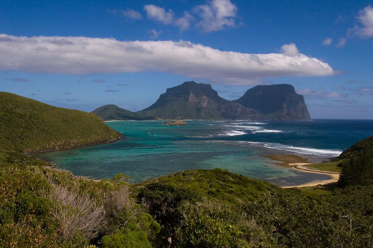 Lord Howe Island in Australia