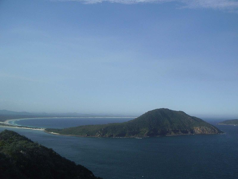 Port Stephens in New South Wales