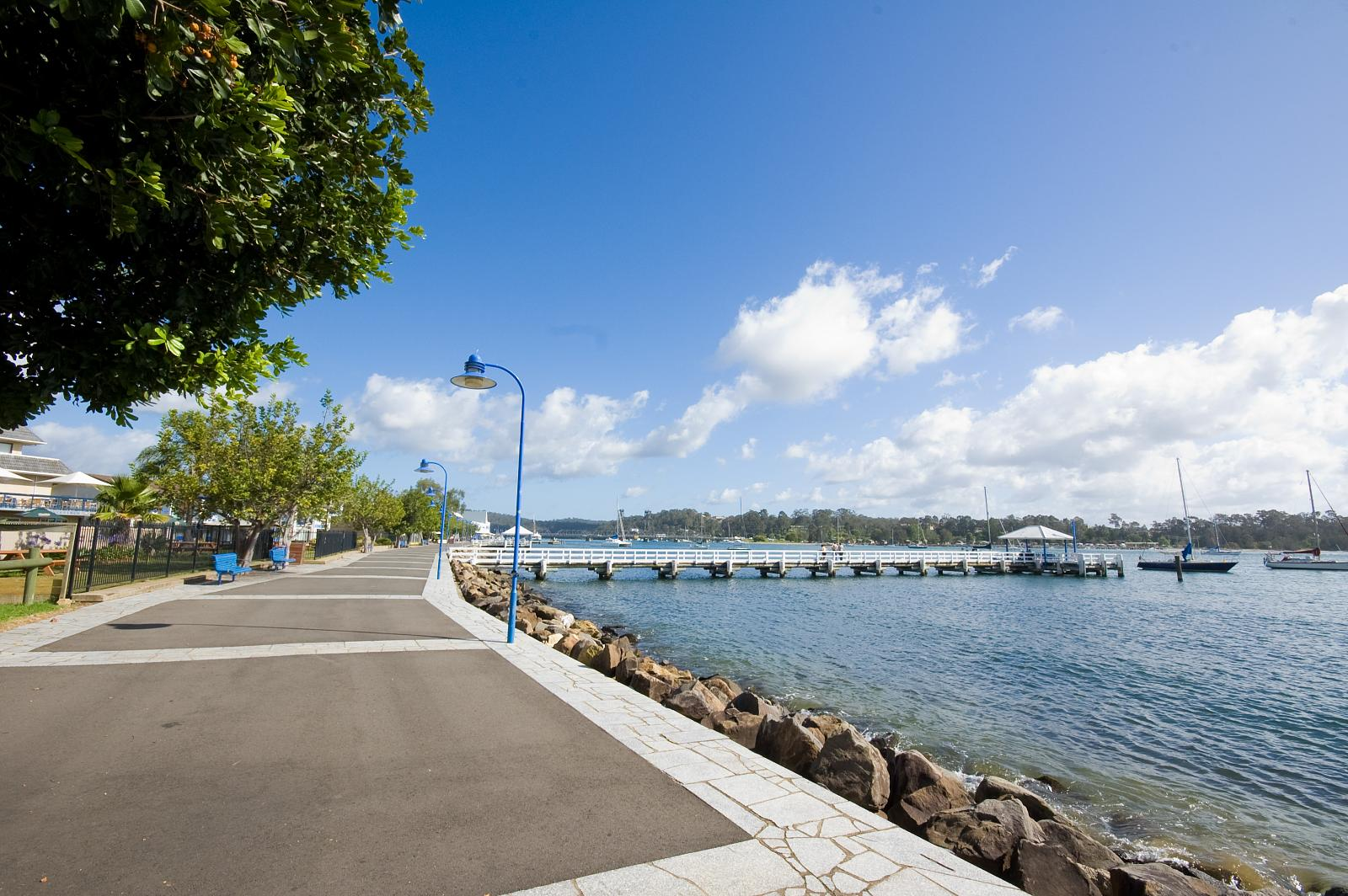Batemans Bay in New South Wales