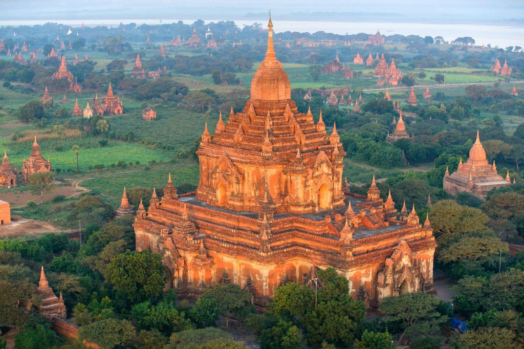 Bagan Temples and Pagodas