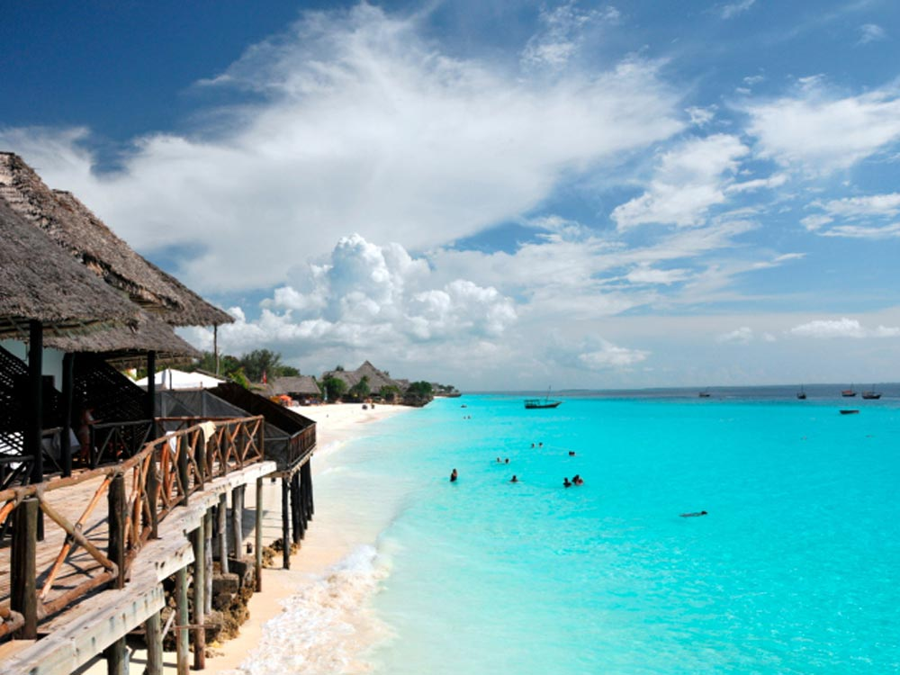 Beach at Zanzibar Islands