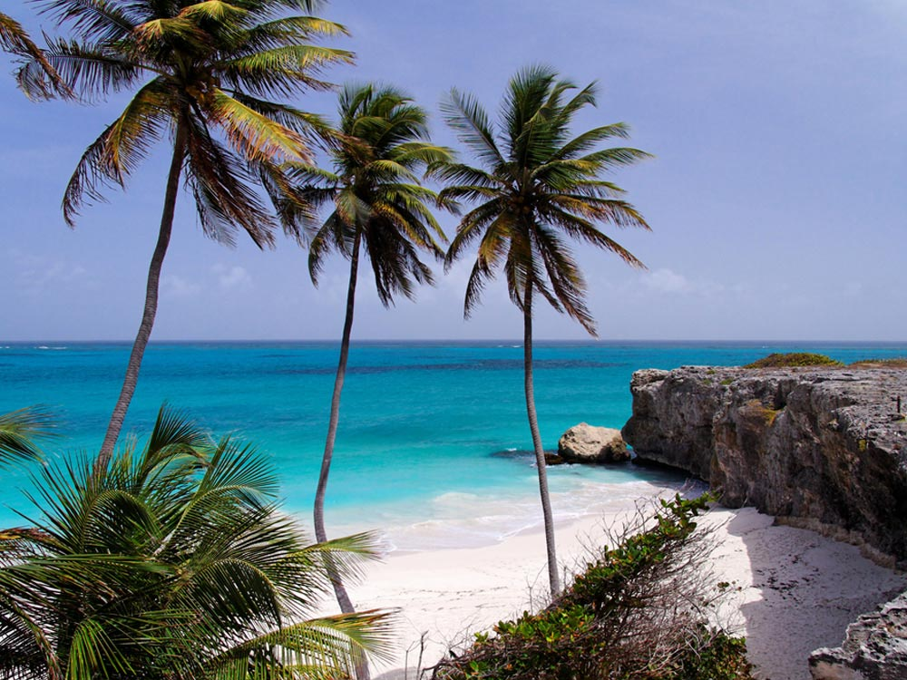 Bottom Bay Beach at Barbados