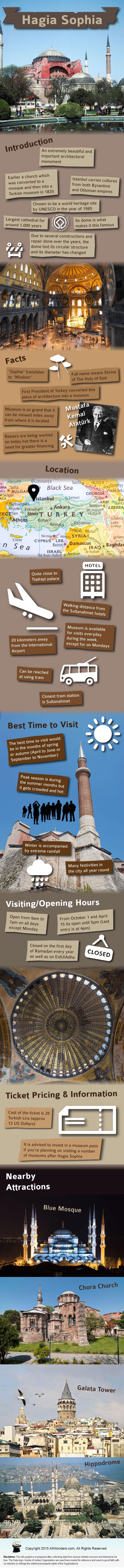 Hagia Sophia Infographic