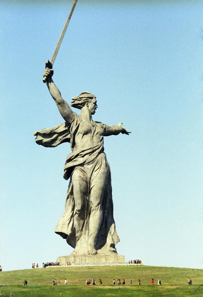 Mother Motherland Statue in Russia