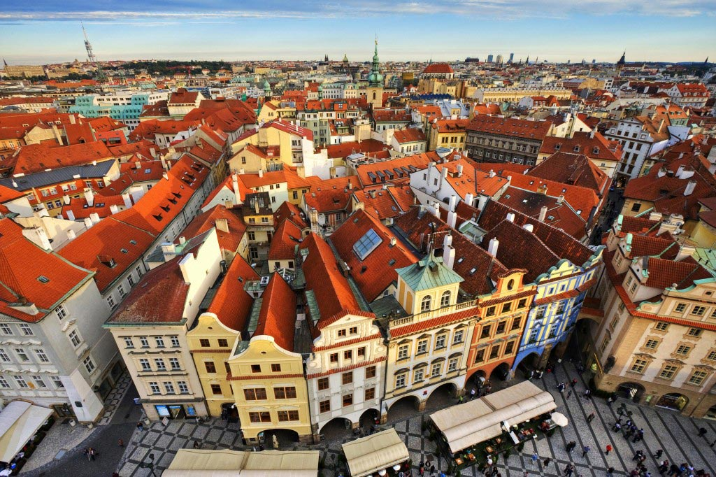 Prague Old Town in Czech Republic