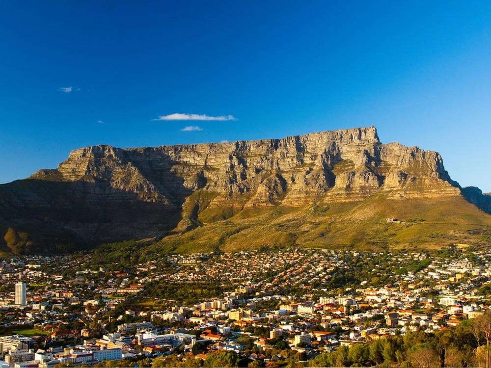 Table Mountain at Cape Town, South Africa