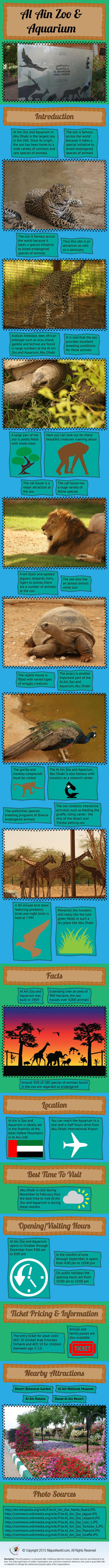 Al Ain Zoo and Aquarium Infographic