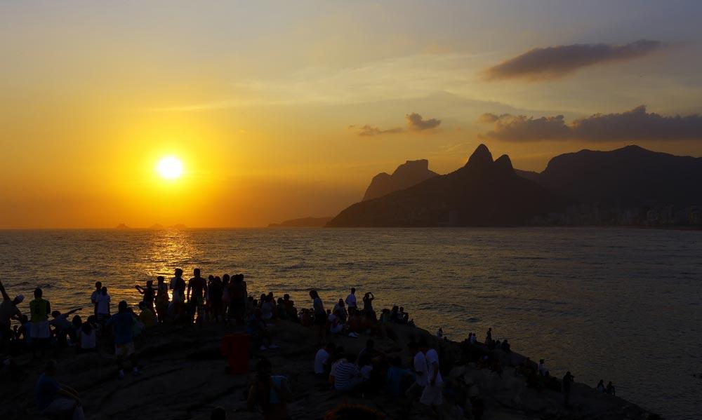 Arpoador Beach in Rio de Janeiro