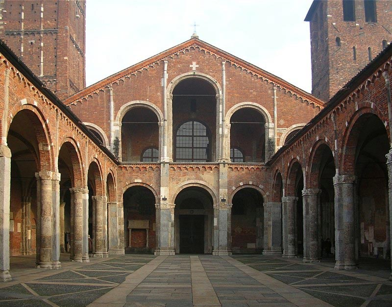 The Church of Sant'Ambrogio