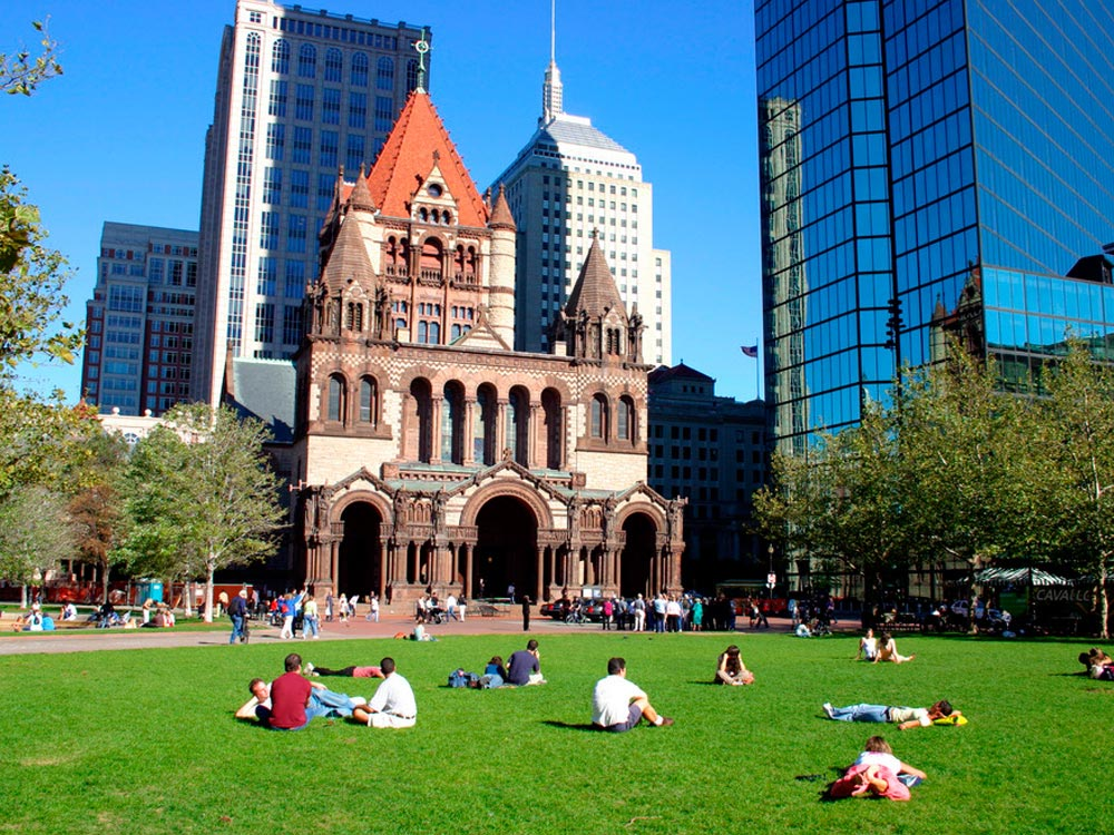 Copley Square Boston Map Facts Location Best Time To