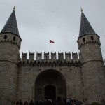 Entrance to Topkapi Palace, Istanbul