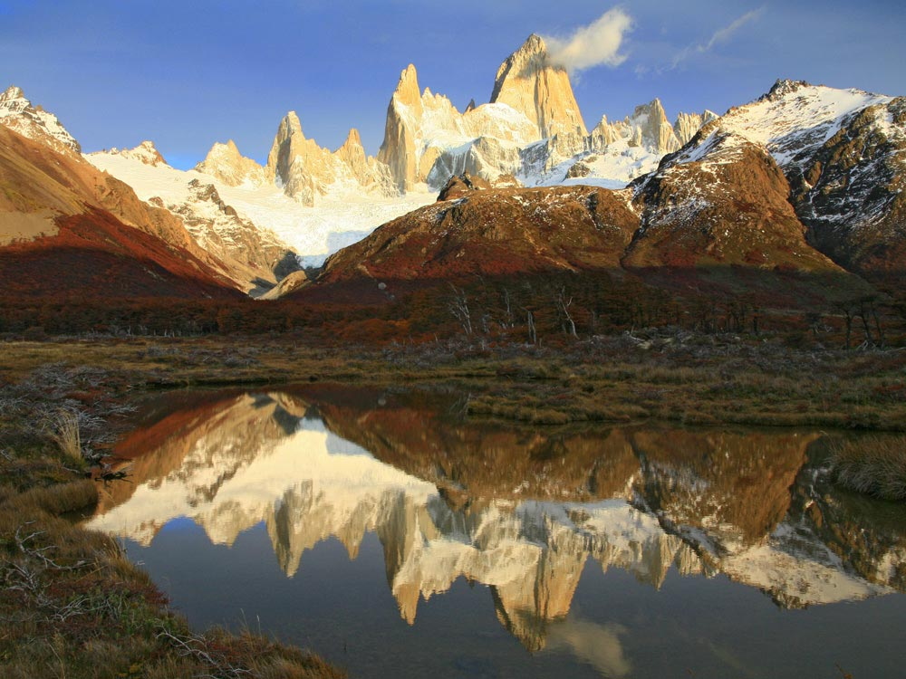 Los Glaciares National Park Travel Information - Location ...