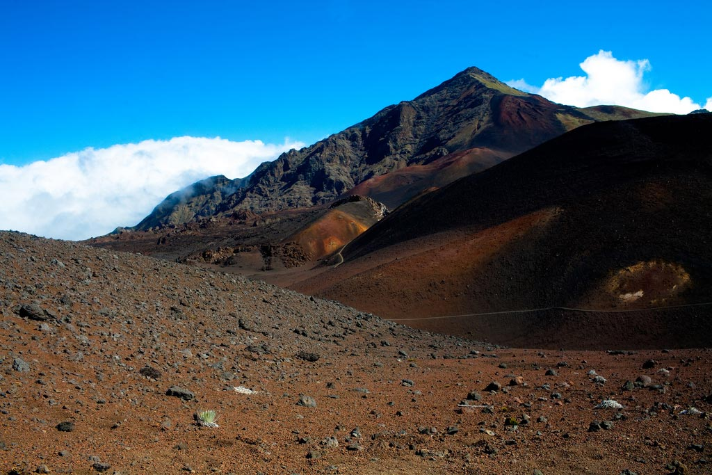 Haleakalā National Park in Maui, Hawaiʻi.
