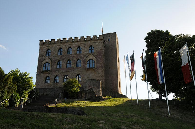 Hambach Castle in Germany