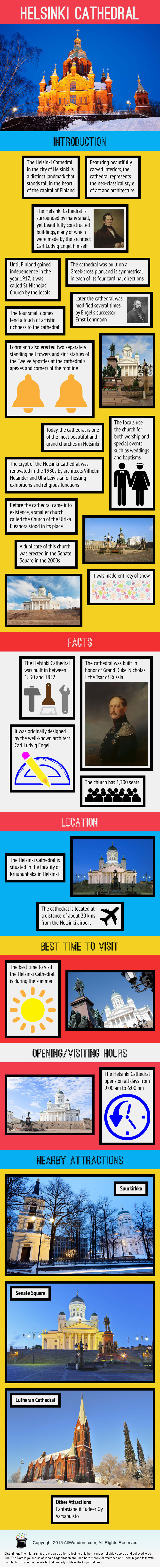 Helsinki Cathedral Infographic