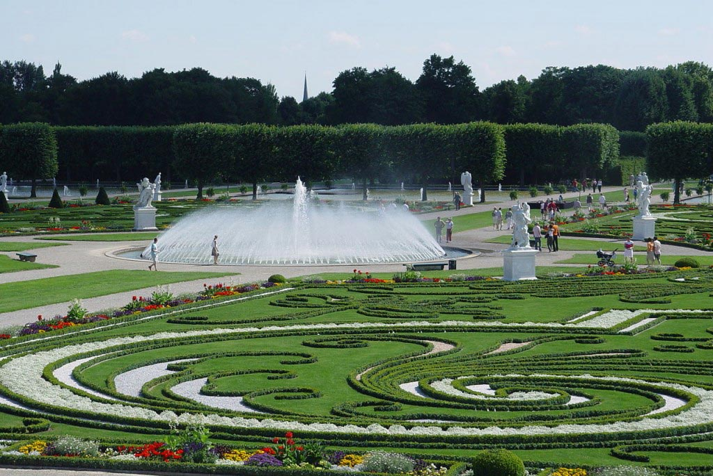 Herrenhausen Gardens in Germany