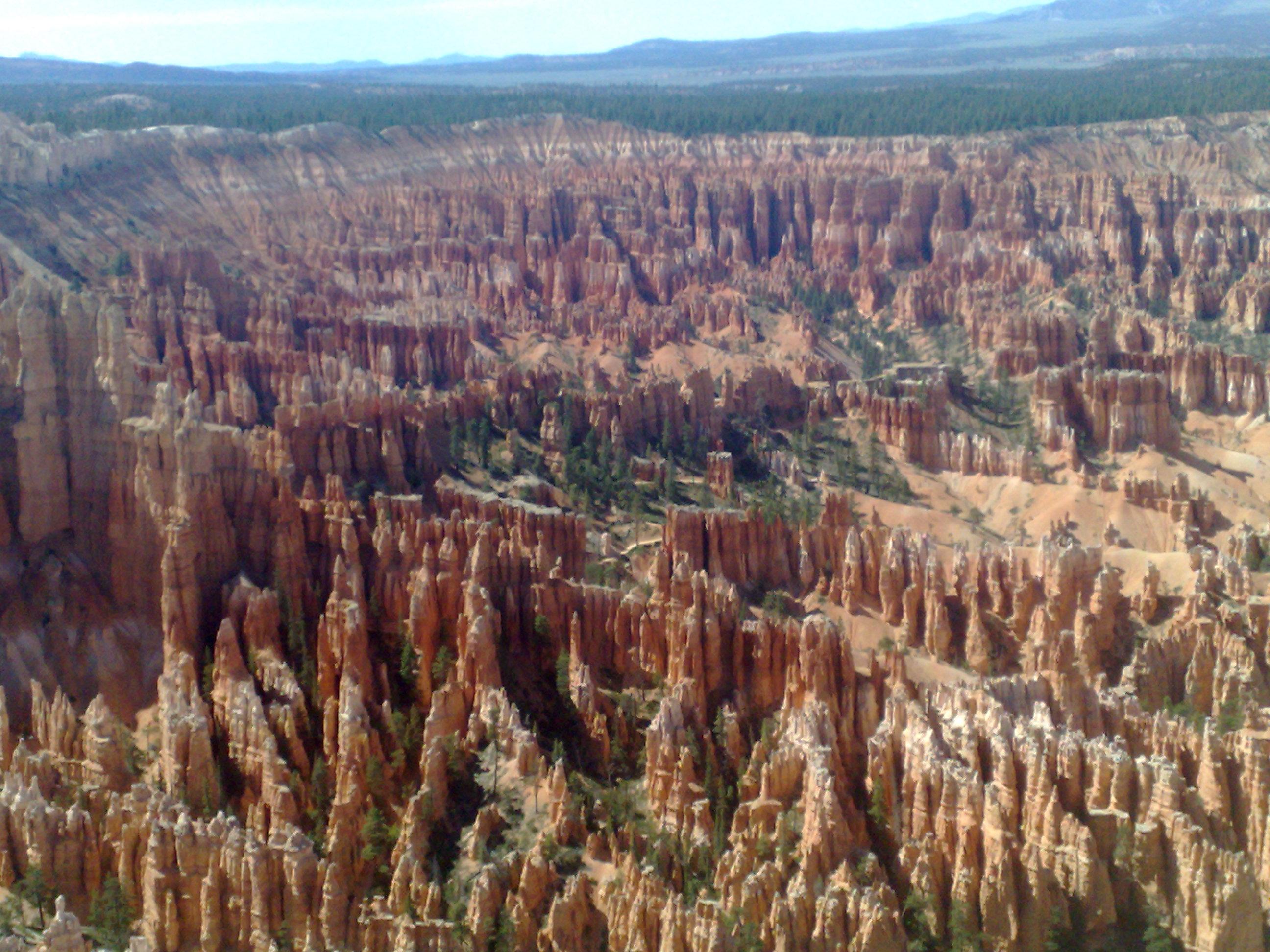hoodoos at bryce canyon