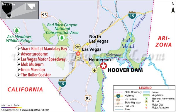 Hoover Dam Location