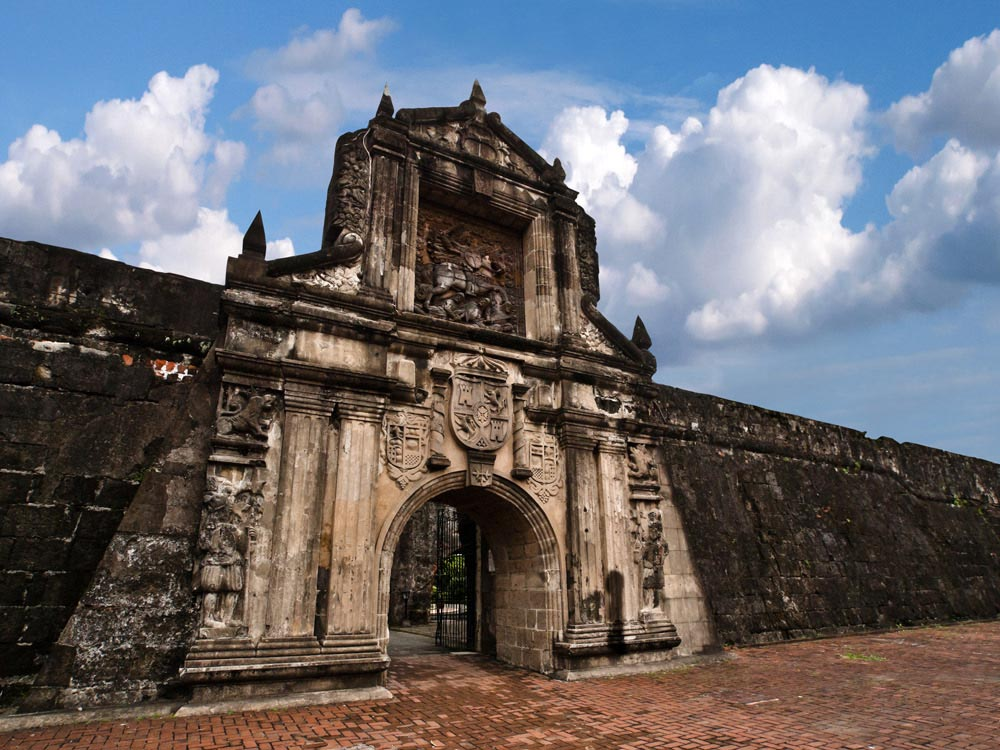Fort Santiago, Intramuros district of Manila, Philippines