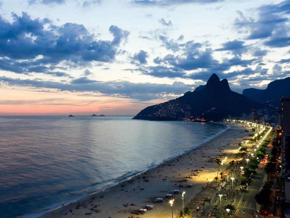 Ipanema Beach in Brazil Map Facts Location Best time to visit