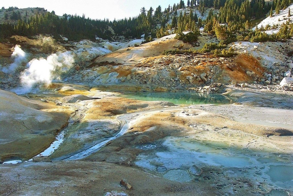 Lassen Volcanic National Park in California