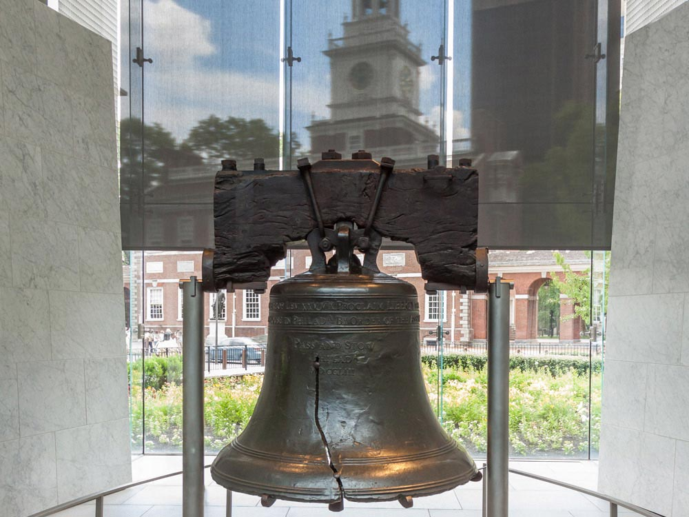 Liberty Bell in Philadelphia, USA