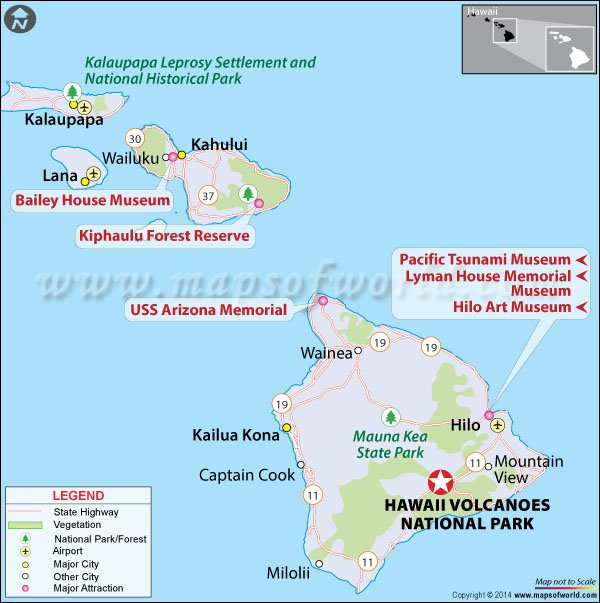 Information about Hawai\'i Volcanoes National Park - Location, Facts ...