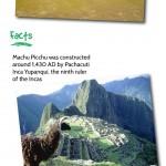 Machu Picchu Infographic