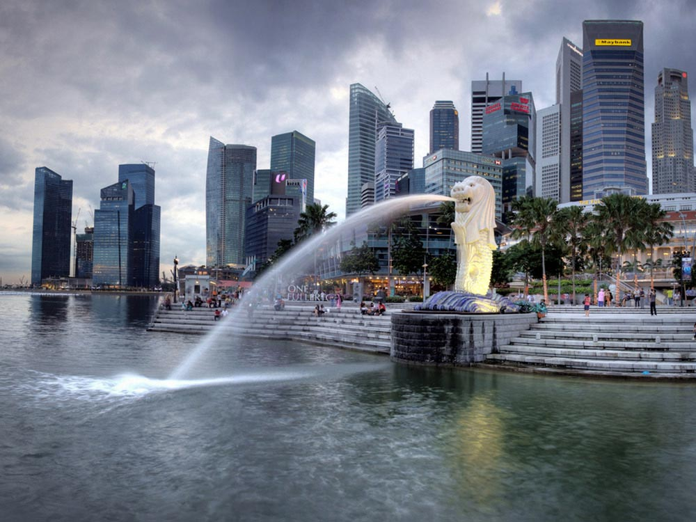 Merlion Park Singapore Map Facts Location Best Time