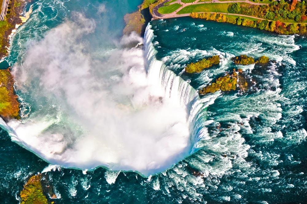 Niagara Falls from up
