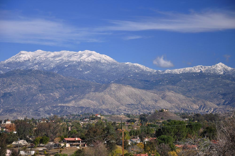 Mt San Jacinto in California