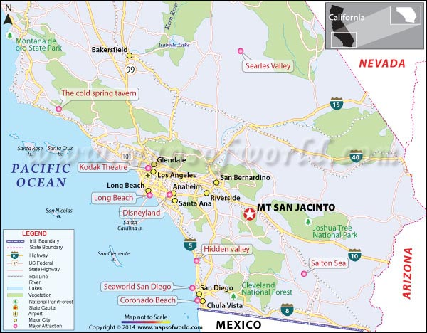 Mt San Jacinto California Map Facts Location Best Time To Visit