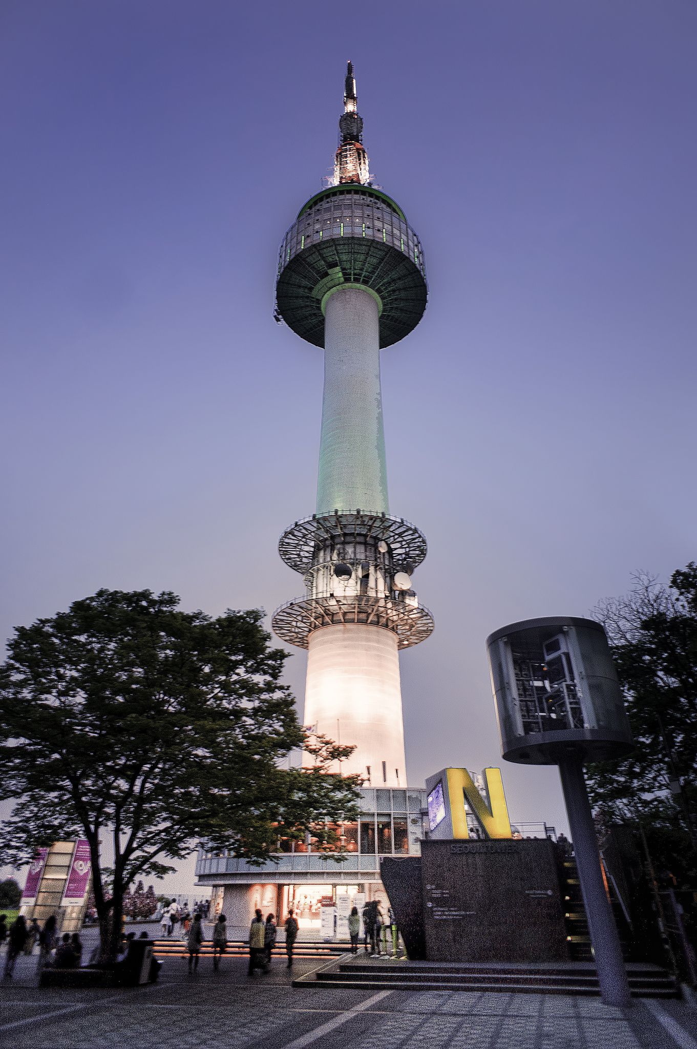 N Seoul Tower on Mt. Namsan