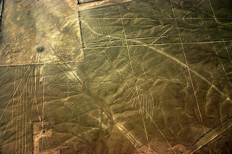 The Condor, one of many figures of the Nazca Lines in Peru.