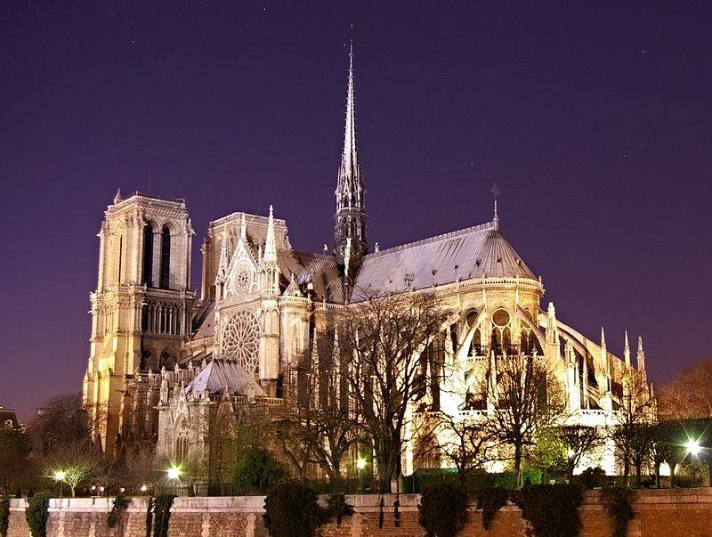Map Of France Facts.Notre Dame De Paris France Map Facts History Architecture