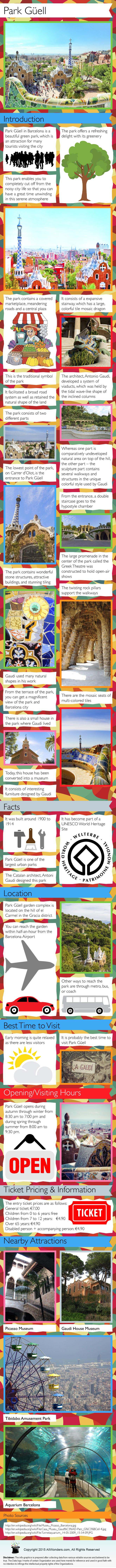 Park Guell Infographic