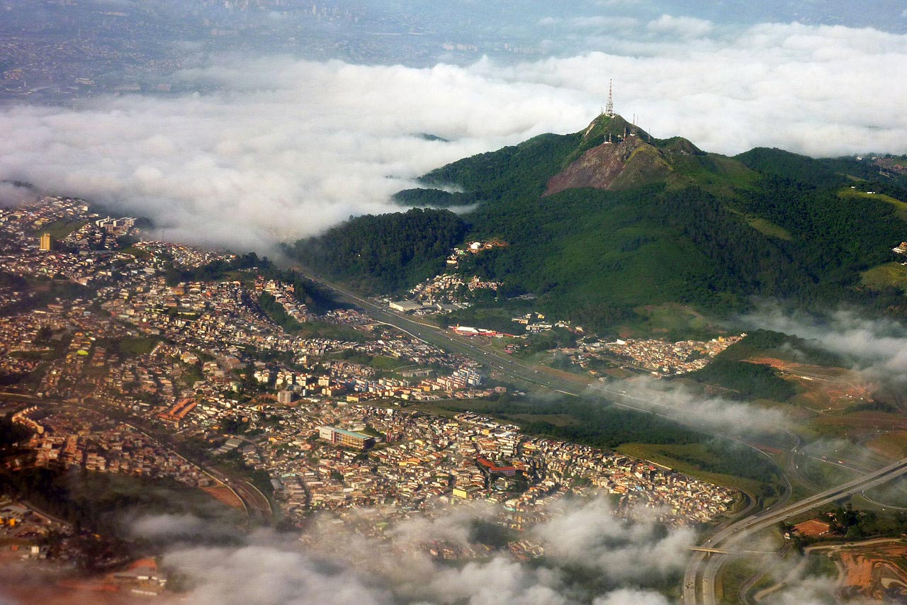 Aerial View of Pico Do Jaragua