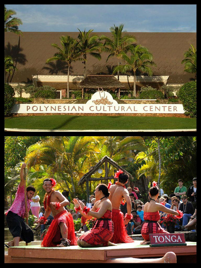 Polynesian Cultural Center in Hawaii